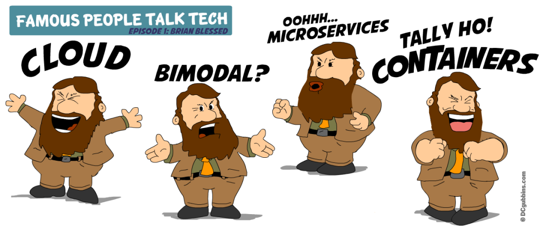 Brian Blessed Talks Tech